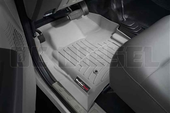 WeatherTech 461261 Grey Front FloorLiner for 2008-2010 Ford 6.4L Powerstroke