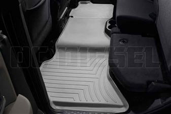 WeatherTech 462163 Grey Rear FloorLiner for 2010-2017 Dodge 6.7LCummins