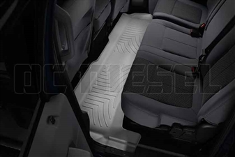 WeatherTech 463052 Grey Rear FloorLiner for 2011-2016 Ford 6.7L Powerstroke
