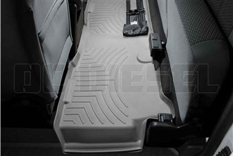 WeatherTech 463053 Grey Rear FloorLiner for 2011-2016 Ford 6.7L Powerstroke