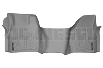 WeatherTech 464051 Grey Front FloorLiner for 2011-2012 Ford 6.7L Powerstroke