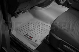 WeatherTech 464641 Grey Front FloorLiner for 2012-2016 Dodge 6.7L Cummins