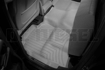 WeatherTech 465423 Grey Rear FloorLiner for 2014-2017 GM 6.6L Duramax LML, LP5