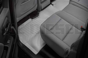 WeatherTech 465424 Grey Rear FloorLiner for 2014-2017 GM 6.6L Duramax LML, LP5