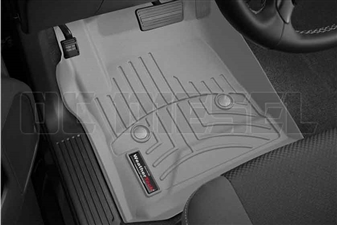 WeatherTech 465441 Grey Front FloorLiner for 2014-2017 GM 6.6L Duramax LML, LP5
