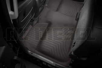 WeatherTech 475422 Cocoa Rear FloorLiner for 2014-2017 GM 6.6L Duramax LML, LP5