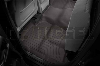 WeatherTech 475423 Cocoa Rear FloorLiner for 2014-2017 GM 6.6L Duramax LML, LP5