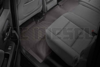 WeatherTech 475424 Cocoa Rear FloorLiner for 2014-2017 GM 6.6L Duramax LML, LP5