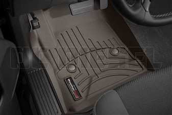 WeatherTech 475441 Cocoa Front FloorLiner for 2014-2017 GM 6.6L Duramax LML, LP5