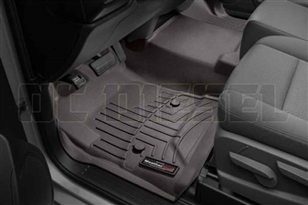 WeatherTech 475451 Cocoa Front FloorLiner for 2014-2017 GM 6.6L Duramax LML, LP5
