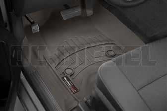 WeatherTech 476071 Cocoa Front FloorLiner for 2014-2017 GM 6.6L Duramax LML, LP5