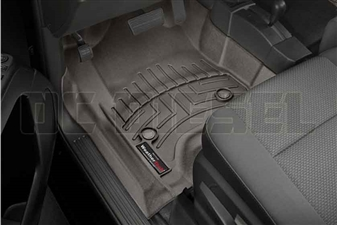 WeatherTech 477221 Cocoa Front FloorLiner for 2014-2017 GM 6.6L Duramax LML, LP5