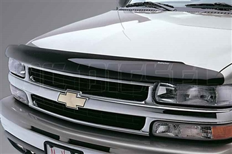 WeatherTech 50045 Dark Smoke Stone and Bug Deflectors for 2001-2002 GM 6.6L Duramax LB7