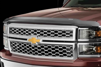 WeatherTech 50067 Dark Smoke Stone and Bug Deflectors for 2001-2002 GM 6.6L Duramax LB7