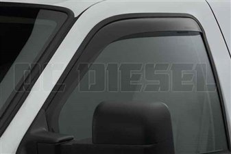 WeatherTech 80138 Front Pair Dark Side Window Deflectors for 1999-2016 Ford 7.3L, 6.0L, 6.4L, 6.7L Powerstroke