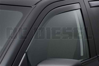 WeatherTech 80503 Front Pair Dark Side Window Deflectors for 2010-2017 Dodge 6.7L Cummins