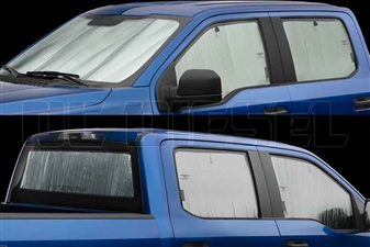 WeatherTech TS0013K2 TechShade Windshield and Window Sun Shade for 2011-2016 Ford 6.7L Powerstroke