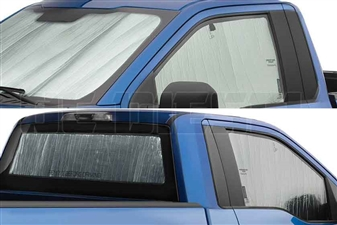 WeatherTech TS0013K3 TechShade Windshield and Window Sun Shade for 2011-2016 Ford 6.7L Powerstroke