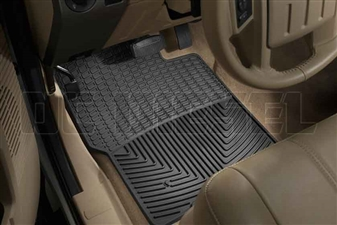 WeatherTech W19 Front All-Weather Floor Mats for 1999-2010 Ford 7.3L, 6.0L, 6.4L Powerstroke