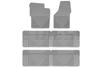 WeatherTech W19GR-W25GR-W25GR All-Weather Floor Mat Set for 2000-2005 Ford 7.3L, 6.0L Powerstroke