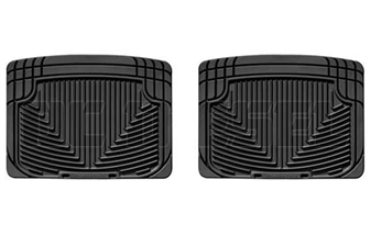 WeatherTech W20 Rear All-Weather Floor Mats for 2001-2006 GM 6.6L Duramax LB7, LLY, LBZ
