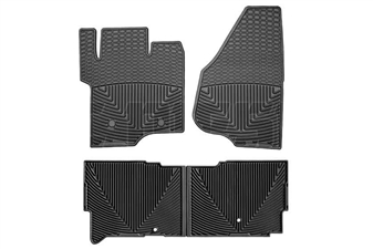 WeatherTech W203-W206 All-Weather Floor Mat Set for 2011-2015 Ford 6.7L Powerstroke