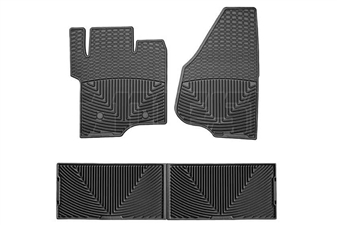 WeatherTech W203-W207 All-Weather Floor Mat Set for 2011-2016 Ford 6.7L Powerstroke