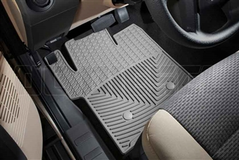 WeatherTech W203GR Front All-Weather Floor Mats for 2011-2016 Ford 6.7L Powerstroke