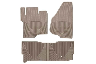 WeatherTech W203TN-W206TN All-Weather Floor Mat Set for 2011-2015 Ford 6.7L Powerstroke