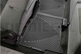 WeatherTech W206 Rear All-Weather Floor Mats for 2008-2015 Ford 6.4L, 6.7L Powerstroke
