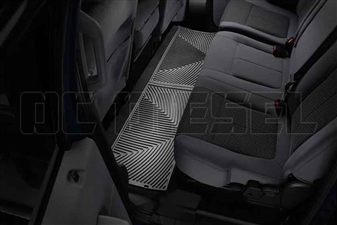 WeatherTech W207 Rear All-Weather Floor Mats for 2008-2016 Ford 6.4L, 6.7L Powerstroke