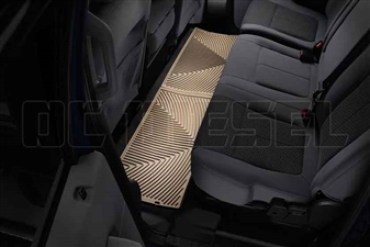 WeatherTech W207TN Rear All-Weather Floor Mats for 2008-2016 Ford 6.4L, 6.7L Powerstroke