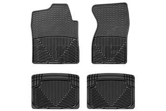 WeatherTech W26-W20 All-Weather Floor Mat Set for 2001-2007 GM 6.6L Duramax LB7, LLY, LBZ
