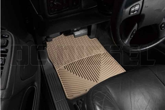 WeatherTech W26TN Front All-Weather Floor Mats for 2001-2007 GM 6.6L Duramax LB7, LLY, LBZ