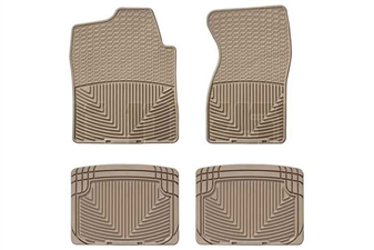 WeatherTech W26TN-W20TN All-Weather Floor Mat Set for 2001-2007 GM 6.6L Duramax LB7, LLY, LBZ
