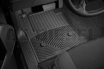 WeatherTech W308 Front All-Weather Floor Mats for 2014-2017 GM 6.6L Duramax LML, LP5