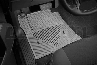 WeatherTech W308GR Front All-Weather Floor Mats for 2014-2017 GM 6.6L Duramax LML, LP5