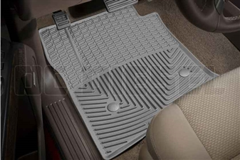 WeatherTech W309GR Front All-Weather Floor Mats for 2014-2017 GM 6.6L Duramax LML, LP5