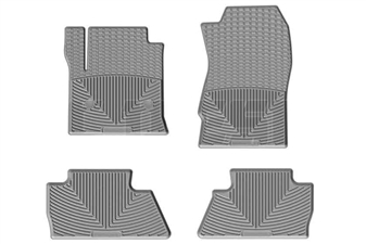 WeatherTech W309GR-W311GR All-Weather Floor Mat Set for 2014-2017 GM 6.6L Duramax LML, LP5