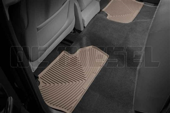 WeatherTech W310TN Rear All-Weather Floor Mats for 2014-2017 GM 6.6L Duramax LML, LP5