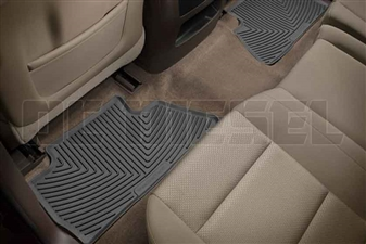 WeatherTech W311 Rear All-Weather Floor Mats for 2014-2017 GM 6.6L Duramax LML, LP5