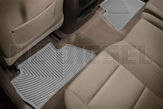 WeatherTech W311GR Rear All-Weather Floor Mats for 2014-2017 GM 6.6L Duramax LML, LP5