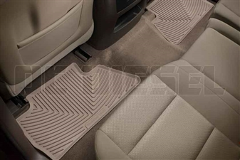 WeatherTech W311TN Rear All-Weather Floor Mats for 2014-2017 GM 6.6L Duramax LML, LP5