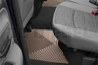 WeatherTech W336TN Rear All-Weather Floor Mats for 2003-2017 Dodge 5.9L, 6.7L Cummins