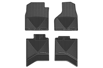 WeatherTech W337-W336 All-Weather Floor Mat Set for 2012-2017 Dodge 6.7L Cummins