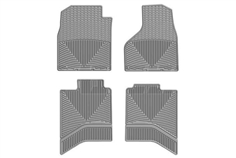 WeatherTech W337GR-W336GR All-Weather Floor Mat Set for 2012-2017 Dodge 6.7L Cummins
