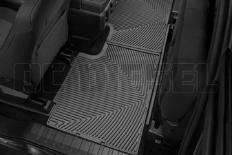WeatherTech W358 Rear All-Weather Floor Mats for 2017 Ford 6.7L Powerstroke