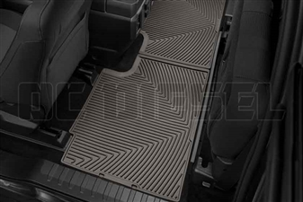 WeatherTech W358CO Rear All-Weather Floor Mats for 2017 Ford 6.7L Powerstroke