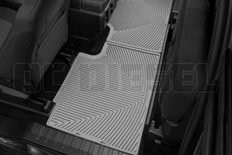 WeatherTech W358GR Rear All-Weather Floor Mats for 2017 Ford 6.7L Powerstroke