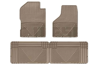 WeatherTech W54TN-W25TN All-Weather Floor Mat Set for 1994-2002 Dodge 5.9L Cummins